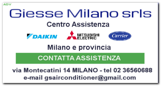 Giesse milano assistenza clima multimarca